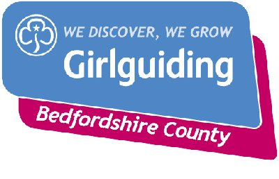 This is the Bedfordshire Girlguiding Logo
